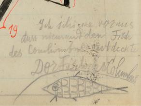 Paul Klee: nota en un manuscrito