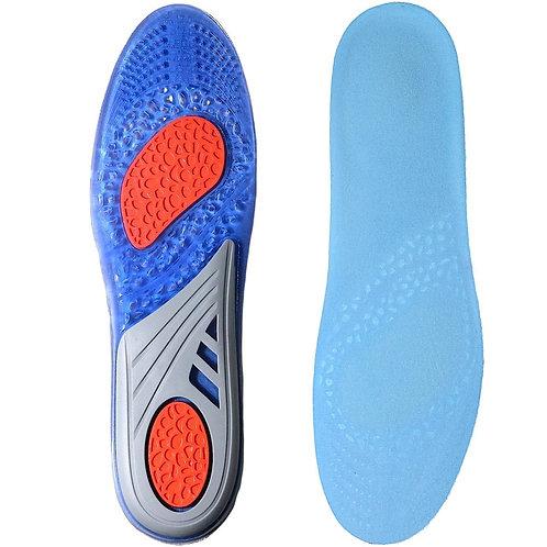 adelphos 柔らかく 歩きやすい インソール 中敷 衝撃吸収ゲル素材 高い通気性 スポーツ ウォーキング 街歩きに