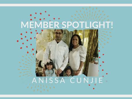 Member Spotlight: Anissa Cunjie