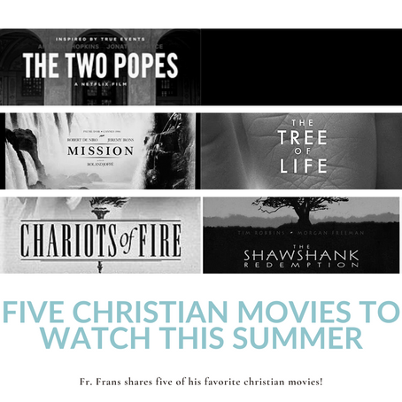 Five Christian Movies to Watch This Summer!