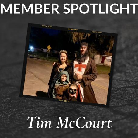 Member Spotlight: Tim McCourt!