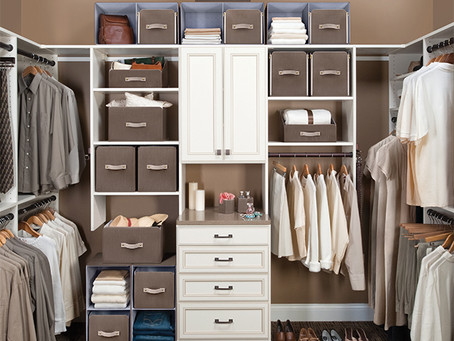 I Am Bored! Now What? Organize Your Closet! Part I