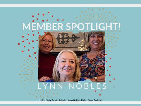 Member Spotlight: Lynn Nobles!