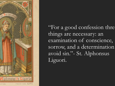 The Three Essential Parts of a Good Confession.