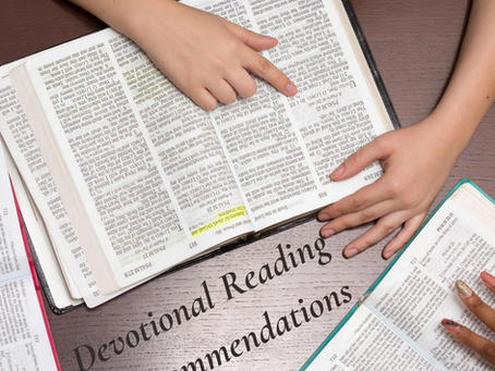 Devotional Reading Recommendations