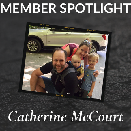 Member Spotlight: Catherine McCourt!