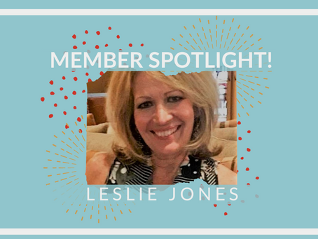 Member Spotlight: Leslie Jones!