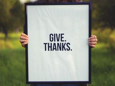 What Do You Have To Give Thanks For?