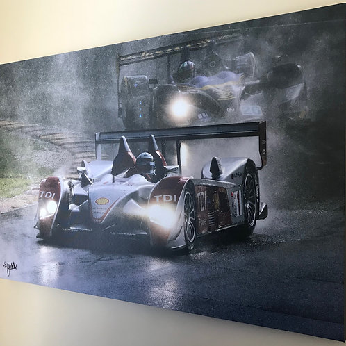 Allan McNish at Canada Corner (Canvas Print)