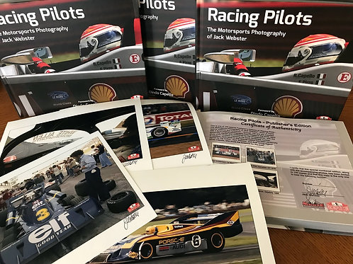 Racing Pilots - The Motorsports Photography of Jack Webster, Publisher's Edition