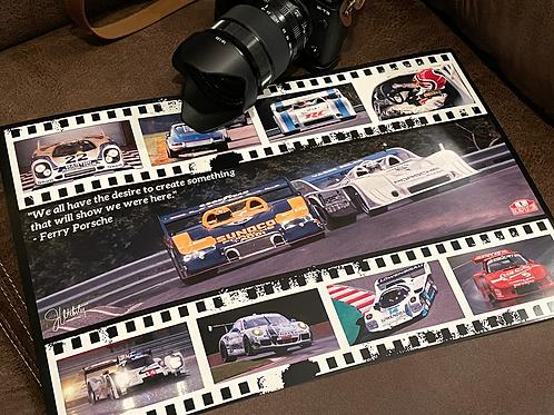 Porsche Heritage Poster