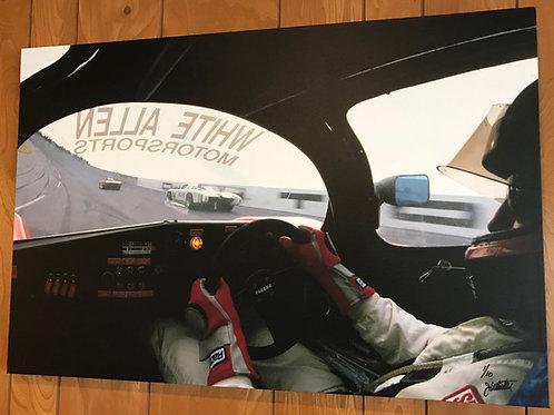 Porsche Fabcar at Daytona (Canvas Print)
