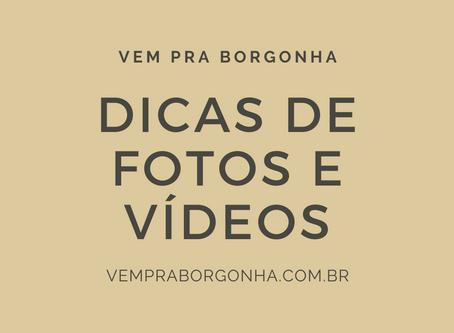 Dicas de fotos e videos para a sua viagem