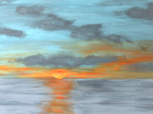 Maine Sunset Limited Edition Print