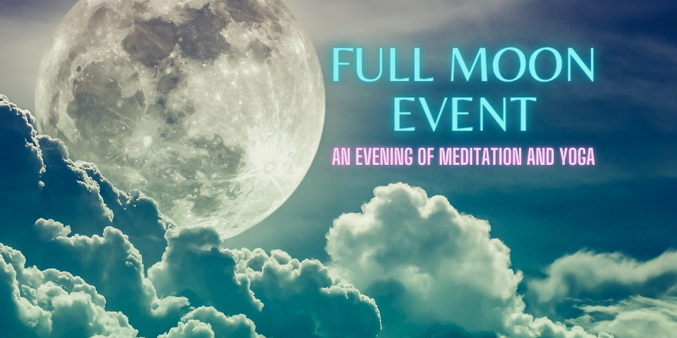 Full Moon Event: May's Flower Moon