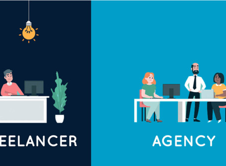 Advantages of hiring Freelancers over Design Agency for your Start-up