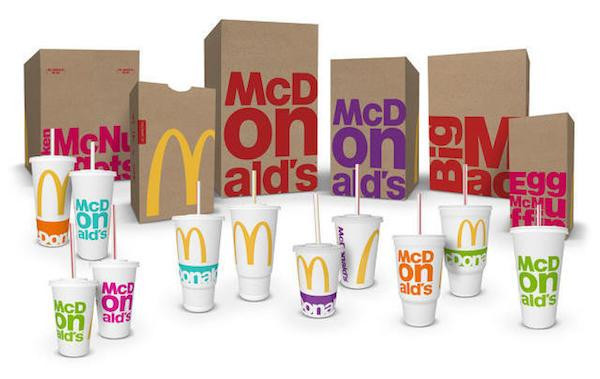 This is what McDonald's uses to make its product more attractive.
