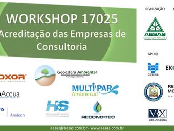 WORKSHOP - 17025 Acreditação das Empresas de Consultoria