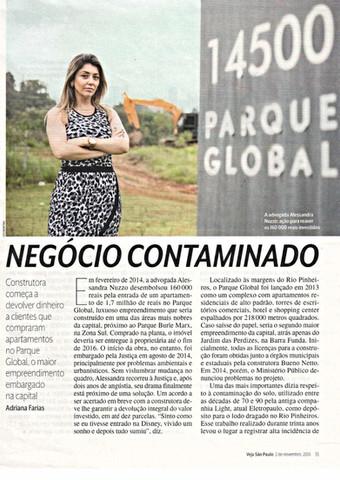 NEGÓCIO CONTAMINADO - Construtora começa a devolver dinheiro a clientes que compraram apartamentos n