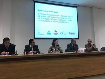 AESAS EM PARCERIA COM O SECOVI E IPT LANÇA O GUIA DA PRODUÇÃO IMOBILIÁRIA E A REABILITAÇÃO DE ÁREAS