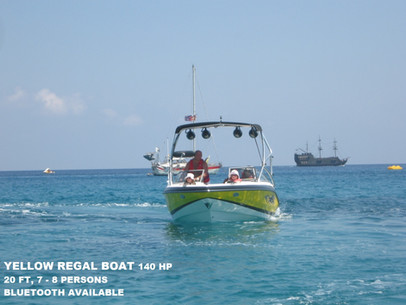 Rent Boat at Konnos, Protaras, Cyprus