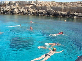SNORKELING IN THE BLUE LAGOON