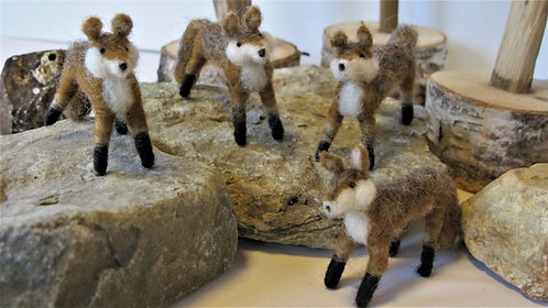 Red Foxes  (sold individually)