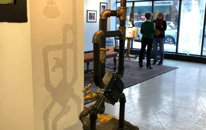 Dandelion Gallery Dynamic Sculture