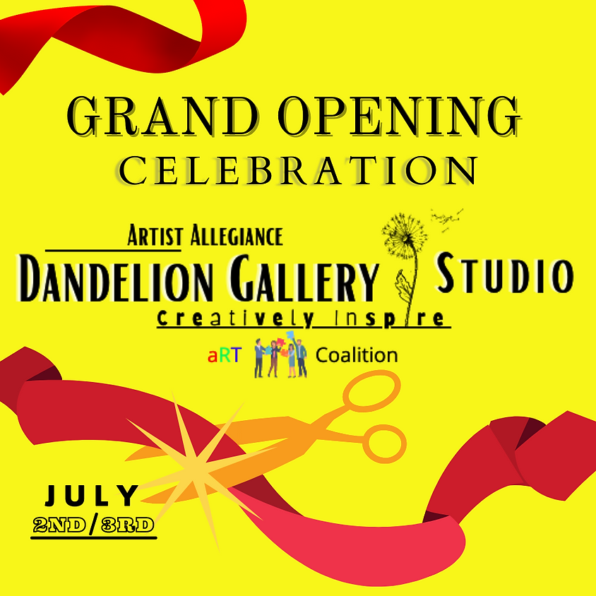 Save the Date Grand Opening Celebration!