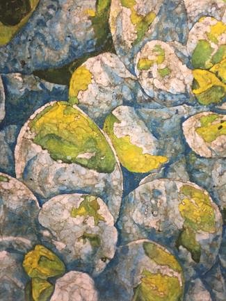 Desert Grapes Batik