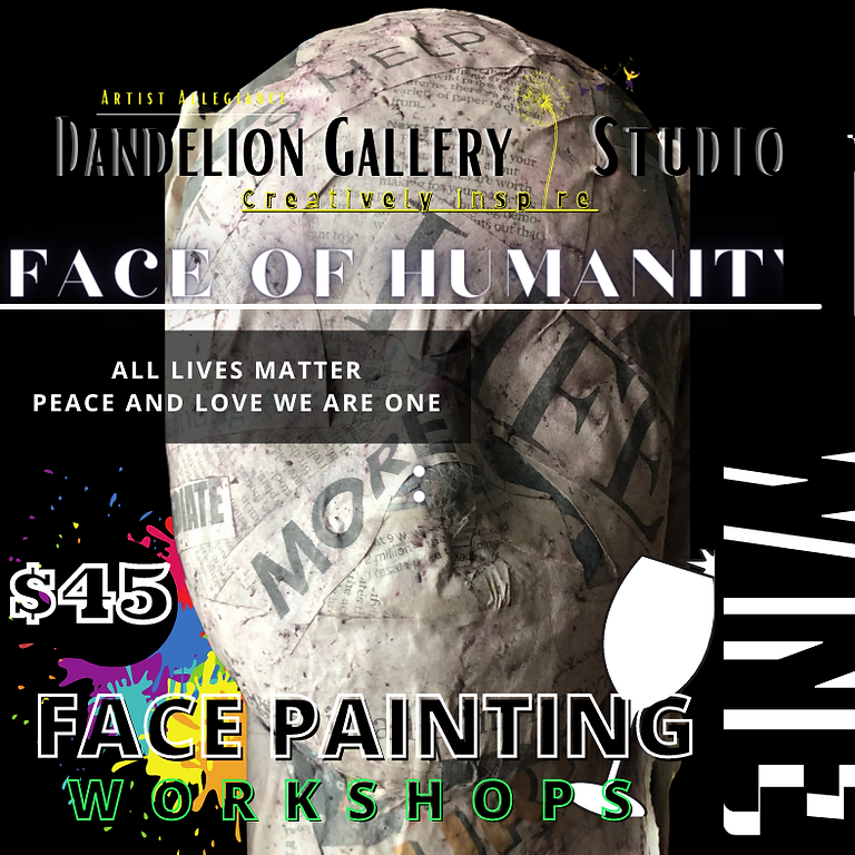 Face of Humanity Craft and Wine Workshop