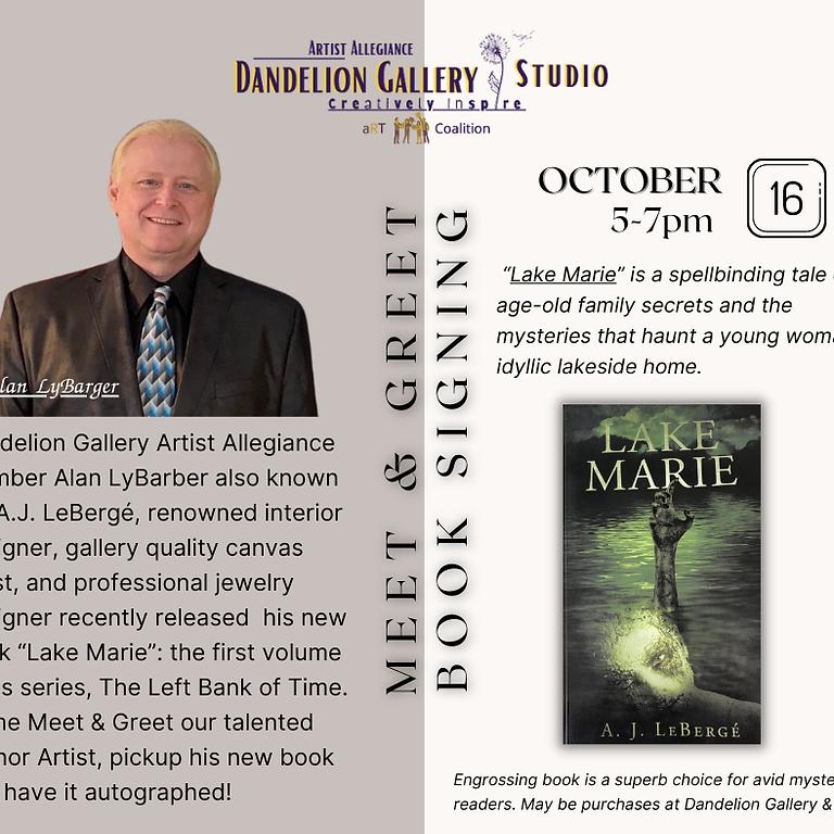 Meet & Greet Book Signing Author Member Alan LyBarger