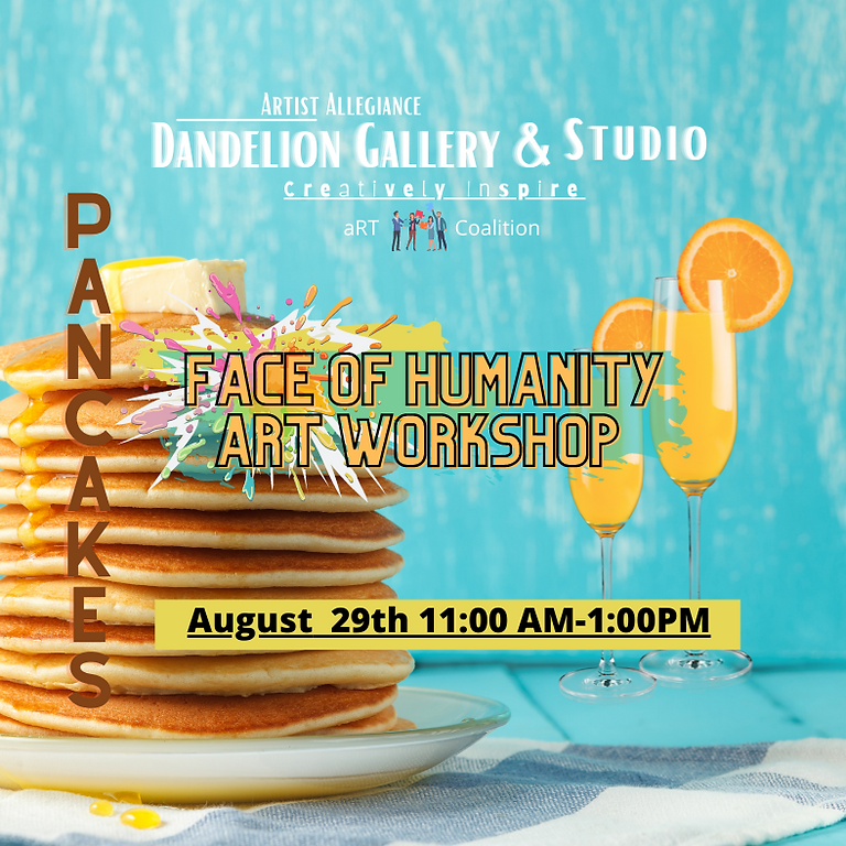Face of Humanity Craft Workshop and Pancakes!