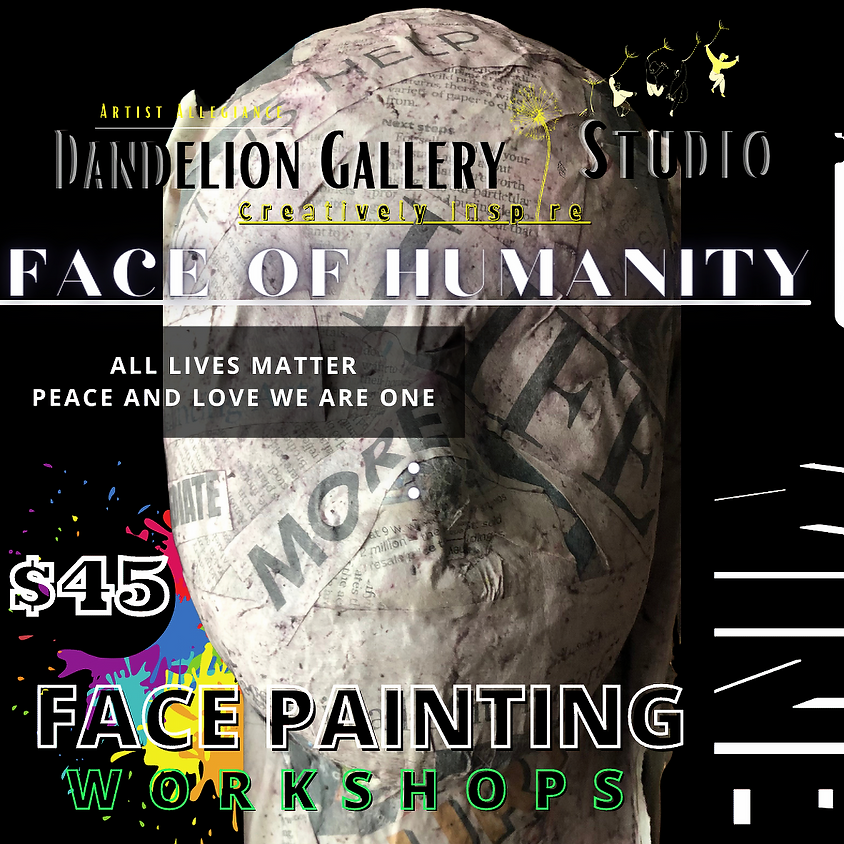 Face of Humanity Craft Workshop