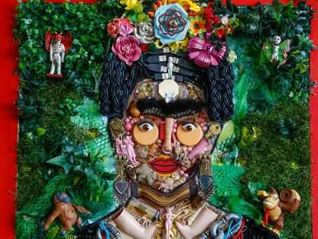 Amanda de la Rosa, de residuos y chácharas a obras de arte.