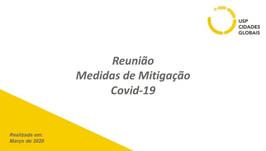 Reunião COVID-19 USP