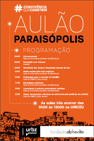 AULÃO PARAISÓPOLIS