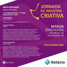 JORNADA DA INDUSTRIA CRIATIVA