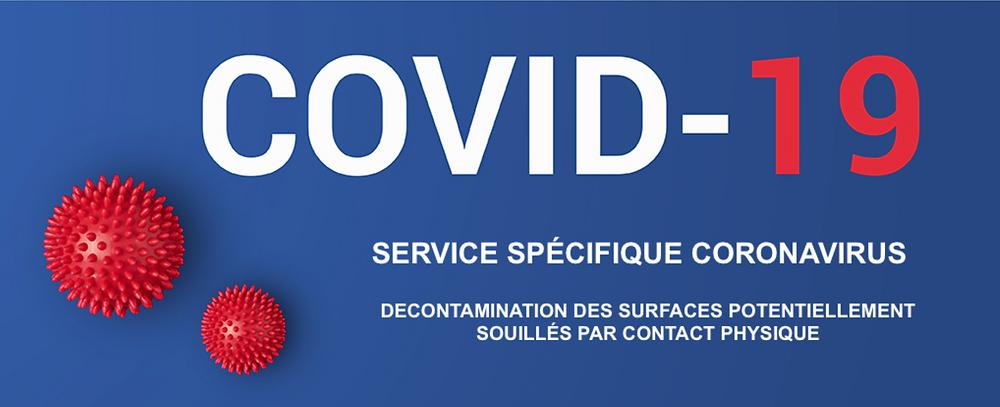 Désinfection nettoyage Coronavirus Covid-19