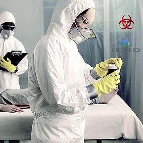 Nettoyage désinfection décès mort Toulouse Coronavirus