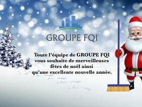 Groupe FQI vous souhaite une bonne année 2019
