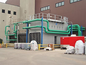 Cooling Tower Installation, Cooling Tower Piping, Chilled Water Piping