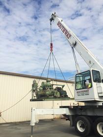 Air Compressor Relocate