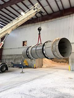 Air Compressor Move, Rigging, Millwright Services
