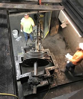 Coal Mill Rebuild