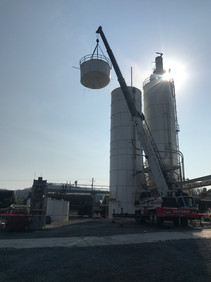 Damaged Silo Demo