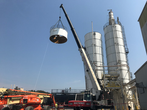 Silo Top Install