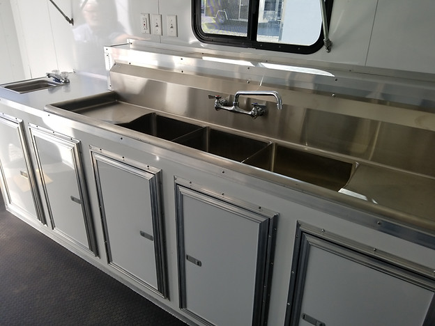 Custom Sinks and Cabinets