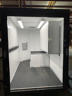 Custom Tailgate / Party Trailer Interior w/ Shadow Box