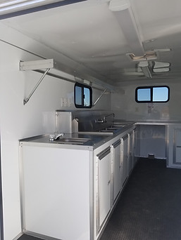 Concession Trailer Custom Cabinets